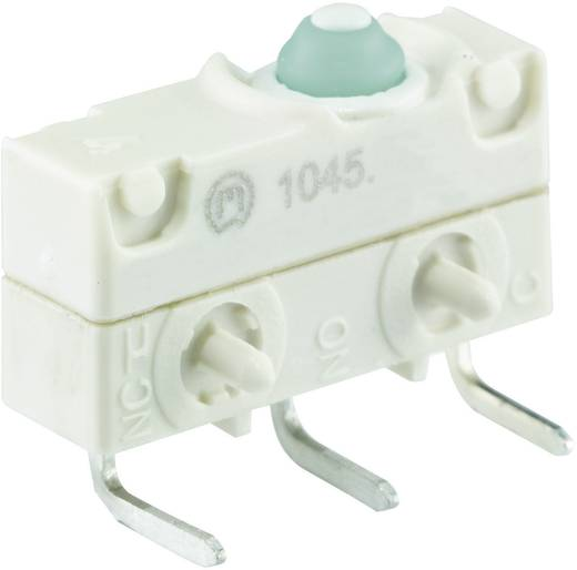 Mikroschalter 250 V/AC 10 A 1 x Ein/(Ein) Marquardt 1045.3102-00 IP67 tastend 1 St.