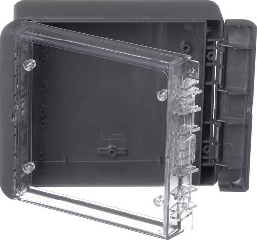 Bopla Bocube B 141306 PC-V0-G-7024 Wand-Gehäuse, Installations-Gehäuse 125 x 151 x 60 Polycarbonat Graphitgrau (RAL 70
