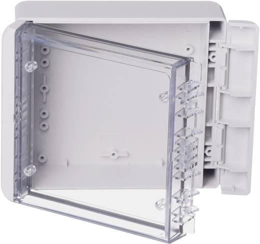 Wand-Gehäuse, Installations-Gehäuse 125 x 151 x 60 Polycarbonat Licht-Grau (RAL 7035) Bopla Bocube B 141306 PC-V0-G-70
