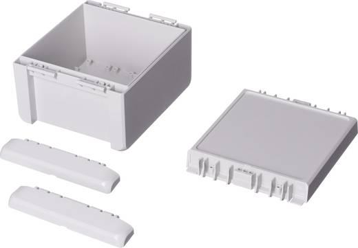 Wand-Gehäuse, Installations-Gehäuse 125 x 151 x 90 Polycarbonat Licht-Grau (RAL 7035) Bopla Bocube B 141309 PC-V0-7035