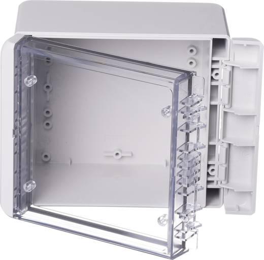 Wand-Gehäuse, Installations-Gehäuse 125 x 151 x 90 Polycarbonat Licht-Grau (RAL 7035) Bopla Bocube B 141309 PC-V0-G-70
