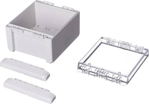 Bopla Bocube B 141309 PC-V0-G-7035 Wand-Gehäuse, Installations-Gehäuse 125 x 151 x 90 Polycarbonat Licht-Grau (RAL 703
