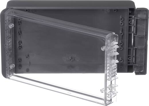 Wand-Gehäuse, Installations-Gehäuse 125 x 231 x 60 Polycarbonat Graphitgrau (RAL 7024) Bopla Bocube B 221306 PC-V0-G-7