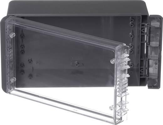 Wand-Gehäuse, Installations-Gehäuse 125 x 231 x 90 Polycarbonat Graphitgrau (RAL 7024) Bopla Bocube B 221309 PC-V0-G-7