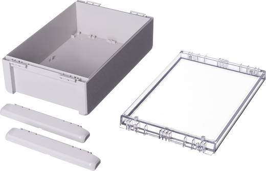 Wand-Gehäuse, Installations-Gehäuse 170 x 271 x 90 Polycarbonat Licht-Grau (RAL 7035) Bopla Bocube B 261709 PC-V0-G-70