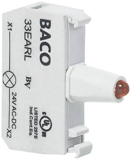 LED-Element Rot 12 V/DC, 24 V/DC BACO BA33EARL 1 St.