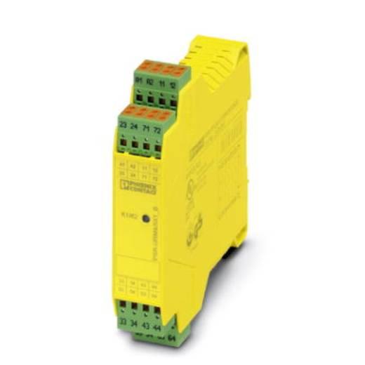 Sicherheitsrelais 1 St. PSR-SPP- 24UC/URM4/5X1/2X2/B Phoenix Contact Betriebsspannung: 24 V/DC, 24 V/AC 5 Schließer, 1 Öffner (B x H x T) 22.5 x 112 x 114.5 mm Mit Rückmeldestrompfad