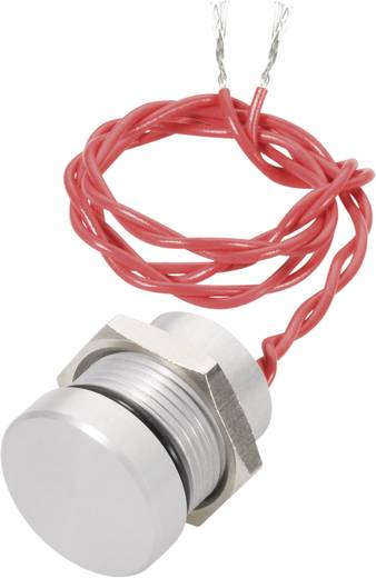 Piezotaster 24 V DC/AC 0.2 A 1 x Aus/(Ein) APEM PBAR1AF6000 IP69K tastend 1 St.