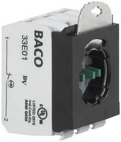 Elément de contact avec adaptateur de fixation BACO BA333E12 1 NF (R), 1 NO (T) momentané 600 V 1 pc(s)