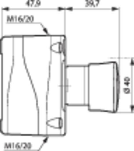 Not-Aus-Schalter im Gehäuse 240 V/AC 2.5 A 2 Öffner BACO LBX17302 IP66 1 St.