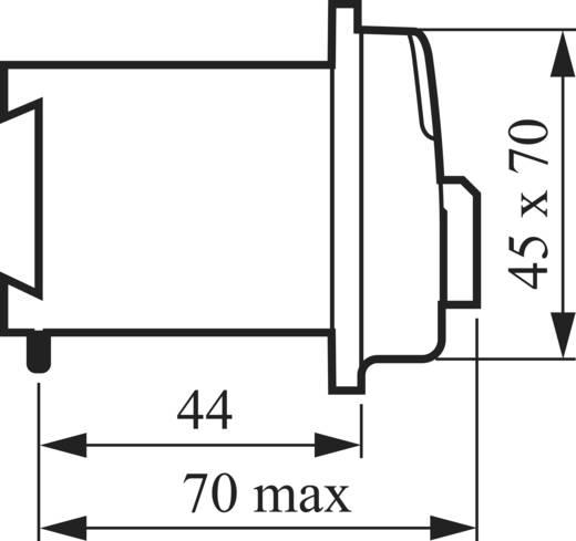 Voltmeter Umschalter 16 A 360 ° Grau BACO NDF03 1 St.