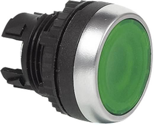 Drucktaster Frontring Kunststoff, verchromt Gelb BACO L21AH40 1 St.