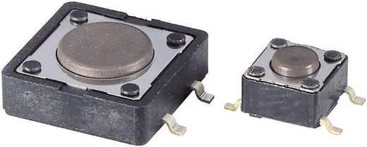 Diptronics DTSM-66N-V-B Drucktaster 12 V/DC 0.05 A 1 x Aus/(Ein) tastend 1 St.