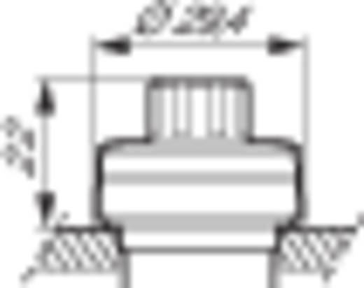 Potentiometerantrieb Frontring Kunststoff, verchromt Schwarz, Chrom BACO L21RP03 1 St.