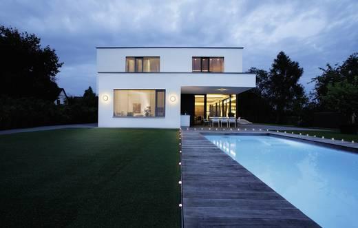 LED-Außenwandleuchte mit Bewegungsmelder 20 W Warm-Weiß OSRAM 4052899905634 Silber