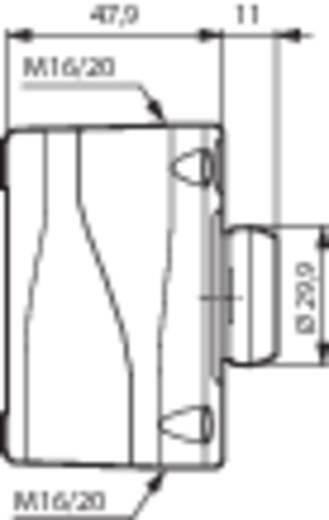 Drucktaster im Gehäuse 240 V/AC 2.5 A 1 Öffner BACO LBX10610 IP66 1 St.