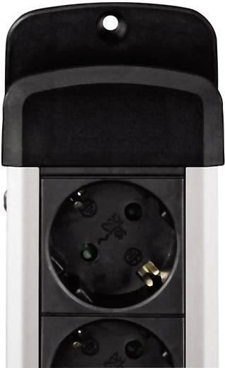 Hama 00047856 Steckdosenleiste mit Schalter 6fach Schwarz Schutzkontakt
