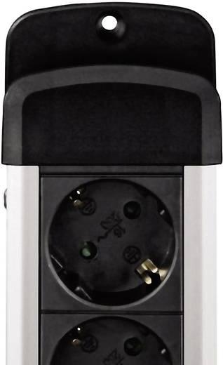 Hama 00047858 Steckdosenleiste mit Schalter 8fach Schwarz Schutzkontakt