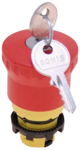 Not-Aus-Schalter Gelb, Rot Schlüsselentriegelung Pizzato Elettrica E21PEBZ4531 1 St.