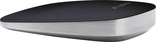 Bluetooth-Maus Laser Logitech T630 Ultrathin Touch Mouse Touch-Oberfläche Schwarz