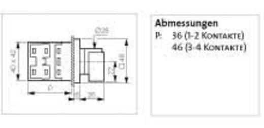 Lasttrennschalter 16 A 1 x 90 ° Grau, Schwarz BACO NB02AQ1 1 St.