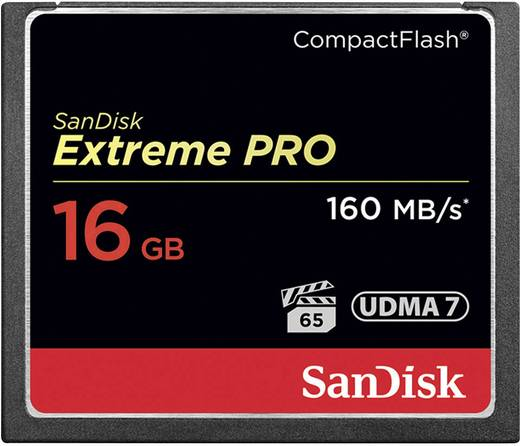 CF-Karte 16 GB SanDisk Extreme Pro®