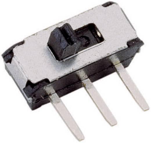 Schiebeschalter 20 V/DC 0.1 A 1 x Ein/Ein 1 St.