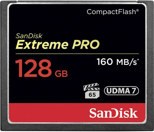 SanDisk Extreme Pro® CF-Karte 128 GB
