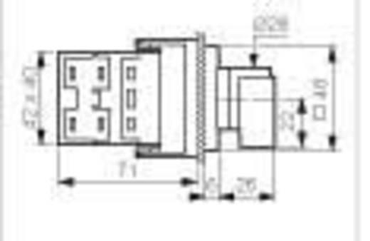 Voltmeter Umschalter 16 A 360 ° Grau, Schwarz BACO NY37GQ1 1 St.