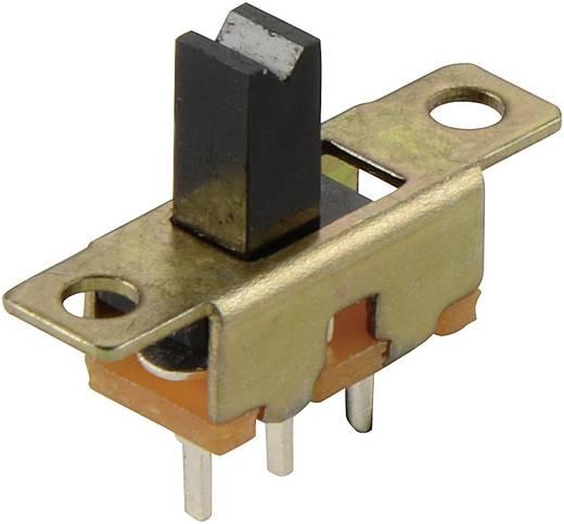 Schiebeschalter 50 V/DC 0.2 A 1 x Ein/Ein SS 12-05 1 St.