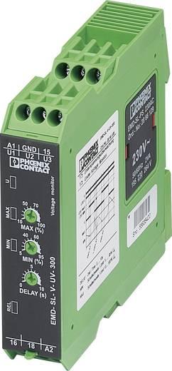 Überwachungsrelais 1 Wechsler 1 St. Phoenix Contact EMD-SL-V-UV-300 1-Phase, Spannung, Unterspannung