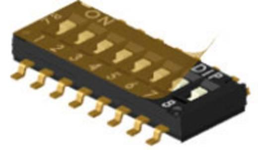 DIP-Schalter Polzahl 8 Tri-State Diptronics DHN-08F-T-V 200 St.
