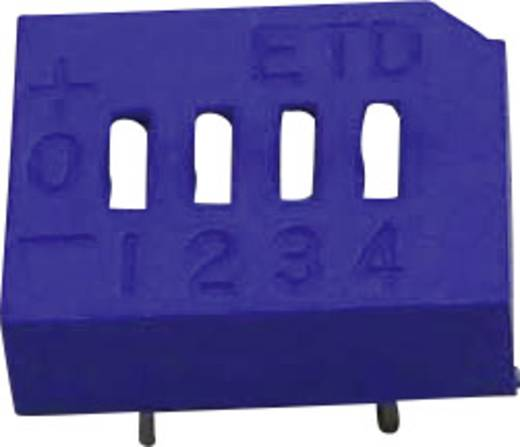DIP-Schalter Polzahl 4 Tri-State ETD 104E 4FOLD 1 St.