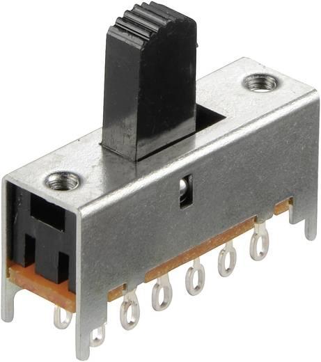 Schiebeschalter 30 V/DC 0.1 A 4 x Ein/Ein 1 St.