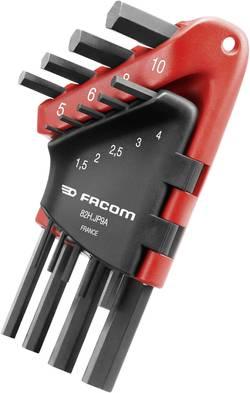 Sada imbusových klíčů s kulovou hlavou Facom 82H.JP9A, 1,5 - 10 mm, 9 ks