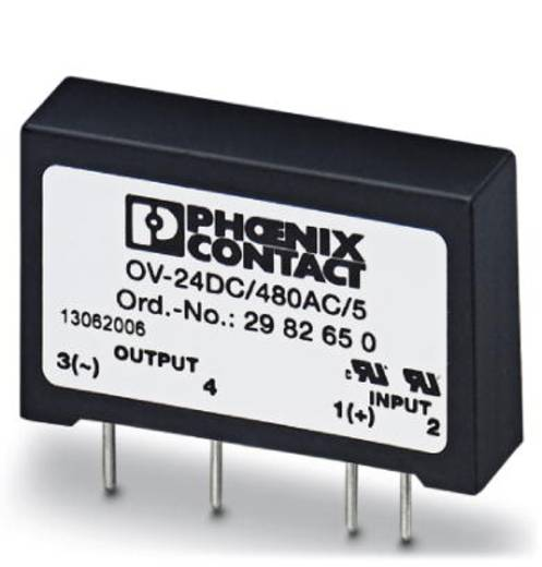 Phoenix Contact Halbleiterrelais 10 St. OV-24DC/480AC/5 Last-Strom (max.): 5 A Schaltspannung (max.): 530 V/AC