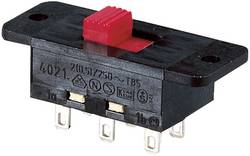 Interrupteur à glissière Marquardt 4021.0512 250 V/AC 5 A 2 x On/On IP40 1 pc(s)