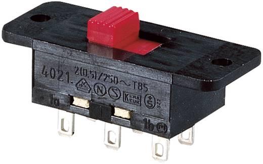 Schiebeschalter 250 V/AC 5 A 2 x Ein/Ein Marquardt 4021.0101 IP40 1 St.