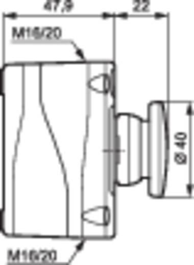 Pilztaster im Gehäuse 240 V/AC 2.5 A 1 Öffner BACO LBX10210 IP66 1 St.