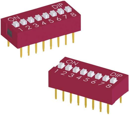 DIP-Schalter Polzahl 8 Standard Diptronics DS-08-V 210 St.