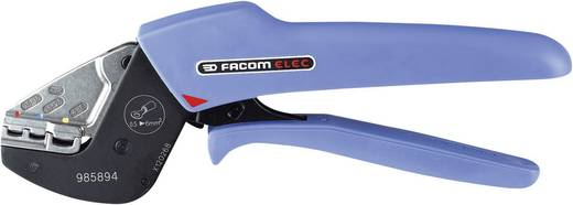 Facom 985894 Crimpzange Isolierte Kabelschuhe, Isolierte Kabelverbinder 0.5 bis 6 mm²