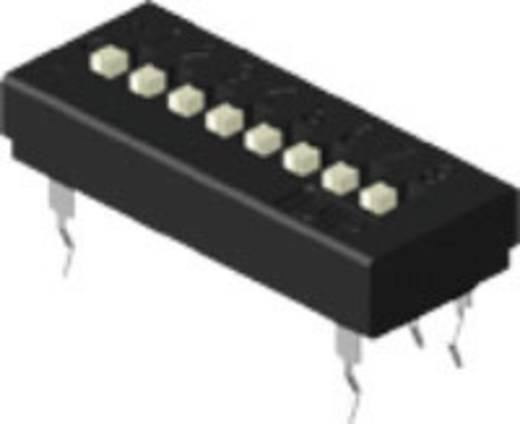 DIP-Schalter Polzahl 8 Tri-State Diptronics TDS-08-V 209 St.