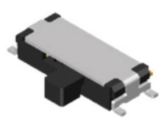 Schiebeschalter 24 V/DC 0.025 A 1 x Ein/Ein Diptronics MSS3-V-T/R 2500 St.