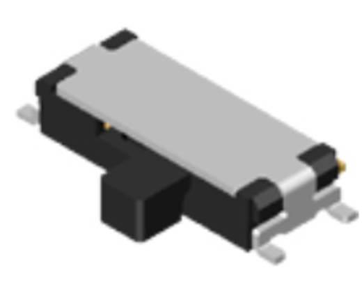 Schiebeschalter 24 V/DC 0.025 A Diptronics NSS13-LC-V-T/R 800 St.