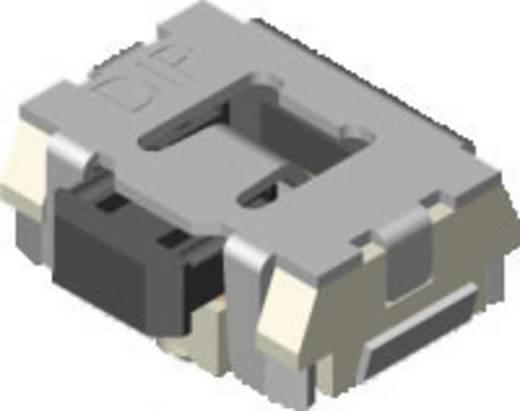 Drucktaster 12 V/DC 0.05 A 1 x Aus/(Ein) Diptronics MPT-LGP2-V-T/R tastend 2000 St.