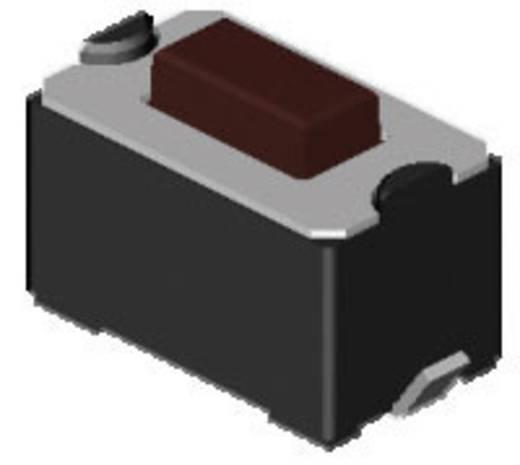 Diptronics DTSM-31N-V-T/R Drucktaster 12 V/DC 0.05 A 1 x Aus/(Ein) tastend 1800 St.