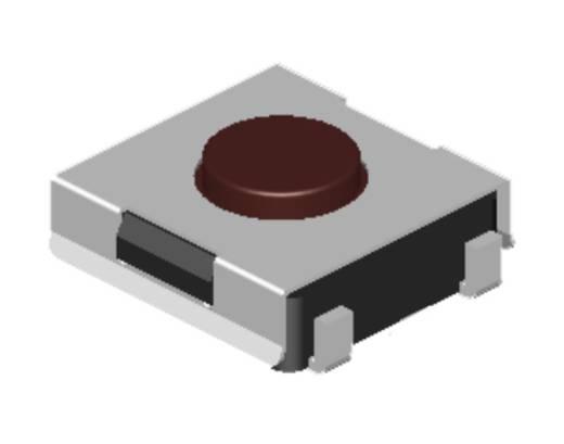 Drucktaster 12 V/DC 0.05 A 1 x Aus/(Ein) Diptronics DTSJW-68S-V-T/R tastend 2700 St.