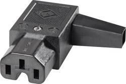 Úhlová IEC síťová zásuvka C15 K+B, 250 V, 10 A, 43R012111