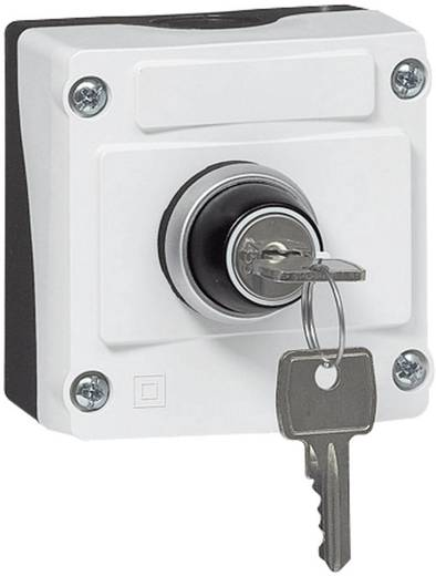 Schlüsselschalter im Gehäuse 240 V/AC 2.5 A 1 Schließer BACO LBX12610 IP66 1 St.