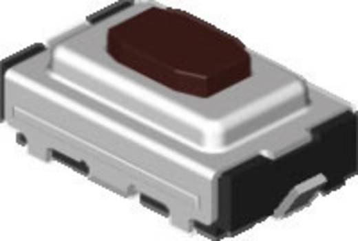 Diptronics TJG-325R-V-T/R Drucktaster 12 V/DC 0.05 A 1 x Aus/(Ein) tastend 2800 St.